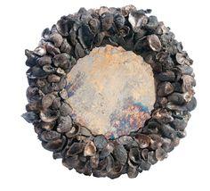 Round Oyster Coquillage Mirror - Dering Hall (=)