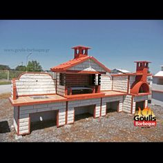 Σύνθεση μπάρμπεκιου με επένδυση πέτρας Silver Wall Decor, Silver Walls, Masonry Bbq, Barbecue Grill, Gazebo, Outdoor Structures, Cabin, House Styles, Home Decor