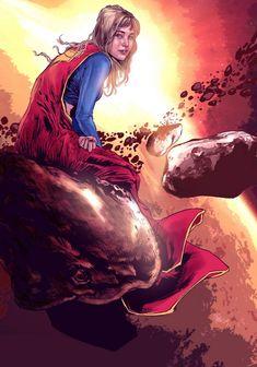 Supergirl by mehdic on DeviantArt