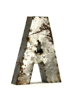 Letter A (Small) by Zentique on Gilt Home
