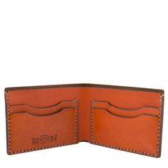Akron Wallet Saddle Tan   ShopPigment