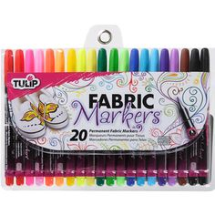 Tulip Fabric Markers - perfect for those Character sigs on your shirts, bags, pillowcases, and even jeans!