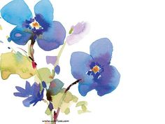 Floral Pattern Design and Floral Graphics  - Beautiful Flower Illustration, Watercolor Flower Painting  Picture  7