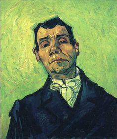 Portrait of a Man - Vincent van Gogh, 1888