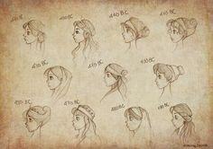 ancient_greek_hairstyles_by_ninidu-d5ppwmk.jpg (1600×1131)
