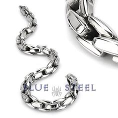 PIN IT TO WIN IT! Snake Charmer  : This beautifully designed 316L Stainless Steel Bracelet is master piece design, the locks on the bracelet are designed like the scales on a serpent, it is remarkable in its finish and gives an image of danger and trouble creeping in silently. Give you a bold look and an independent personality.    $99.99  www.buybluesteel.com