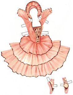 Sabrina the Prima Ballerina   Gabi's Paper Dolls