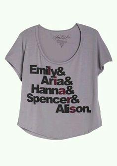 Pretty little liars shirt #pll