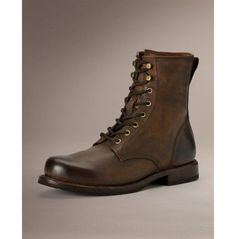 Men Brown Combat Boot, Men Lace Up Military Boots, Handmade Leather Boot is part of Handmade leather boots - Men brown combat boot, men lace up military boots, handmade leather boot Leather Men, Leather Boots, Brown Leather, Cowboy Shoes, Brown Combat Boots, Yellow Boots, Custom Design Shoes, Mens Boots Fashion, Womens Fashion