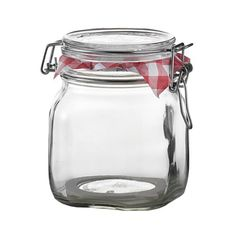 Bormioli Rocco Fido Storage Jar - Wire Bail - 750 mL - 12 pack