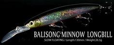 BALISONGMINNOW LONGBILL/バリソンミノー・ロングビル