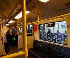 Vintage U Bahn Berlin Linie U