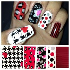 Betsey Johnson inspired spring nail art trends
