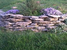 This a rock flower bed.