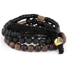 Buy Lucleon - Brown Miro Stack Bracelet for only Shop at Trendhim and get returns. We take pride in providing an excellent experience. Bracelets For Men, Beaded Bracelets, Red Tigers Eye, Engraved Bracelet, Bracelet Cuir, Stone Beads, Lava, Mens Fashion, Diy Jewelry Making