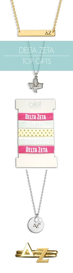 Top Delta Zeta Gifts for you and your sisters! This season's must-haves for all things DZ // #sorority www.alistgreek.com