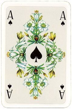 Altenburger Spielkarten Salon Karte Coeur designed by Walter Kraus DDR Ace of spades Unique Playing Cards, Playing Cards Art, Cards On The Table, Deck Of Cards, Ace Of Spades Tattoo, Spade Tattoo, Art Nouveau, Tattoo Flash Art, Themes Themes