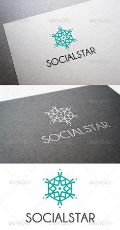 Social Star Logo