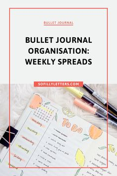 Bullet Journal First Page, Bullet Journal Spread, Journal Organization, Rhyme And Reason, Weekly Spread, Weekly Planner, Bujo, Over The Years, Letters