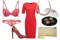 Czerwona sukienka na specjalną okazję