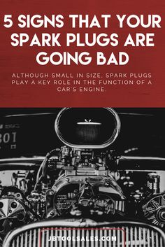 5 Signs that Your Spark Plugs are Going Bad Diy Car, Car Engine, Spark Plug, Car Cleaning, Take Care Of Yourself, Plugs, How To Find Out, Signs, Car Repair