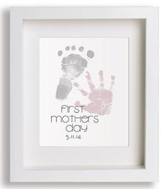 Mother's Day Crafts Archives - Page 3 of 10 - Crafting Timeout # first mothers day Diy Mother's Day Crafts, Mother's Day Diy, Baby Crafts, First Mothers Day Gifts, Mothers Day Crafts For Kids, Children Crafts, Happy Mothers, Baby Footprint Art, Baby Footprints