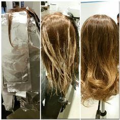 Balyage ombre hair