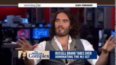 Russell Brand Destroys MSNBC Talk Show Host for Treating Him Like Shit