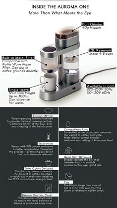 Auroma: Never Make Bad Coffee Again by Auroma Brewing Company — Kickstarter