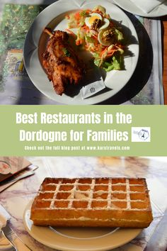 The Dordogne is full of good restaurants where you can eat. Here we highlight 7 places you can eat in the Dordogne with kids. Europe Travel Guide, France Travel, Travel Guides, Travel Tips, Travel Destinations, 7 Places, Best Places To Eat, Food Tips, Food Hacks
