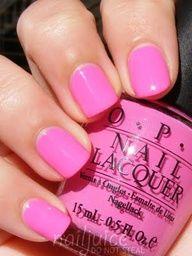 opi- shorts story {perfect summer pink!}