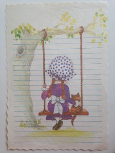 Papel de carta dos anos 80.