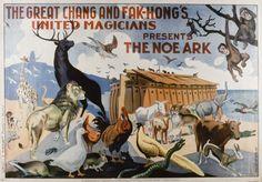 The Great Chang and Fak-Hong's United Magicians presents The Noe Ark, Anonymous, 1930. Biblioteca Valenciana Digital, Bivaldi. Public Domain.