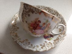 G H Bavaria porselein, lovely vintage cup