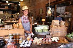 Lisa at the Old Faithful Sunday Farmers Market by scout.magazine, via Flickr