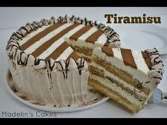 Palm trees with almond cream - HQ Recipes Madeline Cake, Doctor Cake, Fondant, Tiramisu Dessert, Homemade Cake Recipes, Just Cakes, Special Recipes, Cupcake Cakes, Cupcakes