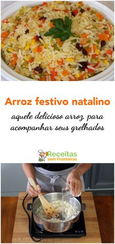 Paella, Tasty, Yummy Food, Portuguese Recipes, Christmas Wood, Rice Recipes, Carne, Mashed Potatoes, Food And Drink