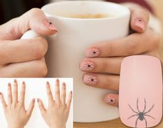 Here's a #creepy crawly #goth covers for your #nails featuring our original #spider design. If you are fringe type personality that likes to be a little different then you're going to love this arachnid look. - All of the Funniest Stuff Comes From #SleepyPete: http://www.zazzle.com/tutuzdad*