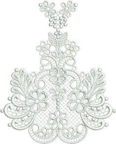 Sue Box Creations | Download Embroidery Designs | 27 - Taj Border Centre