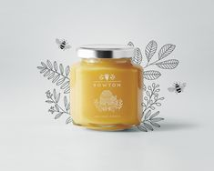 Ryn Frank Design is a full service creative design agency in the South West, UK. Passionate about unique creative branding and authentic design. Food Packaging Design, Packaging Design Inspiration, Brand Packaging, Branding Design, Fox Design, Label Design, Honey Logo, Honey Label, Honey Brand