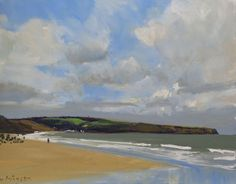 Buy Sandsend near Whitby., Oil painting by Malcolm Ludvigsen on Artfinder. Discover thousands of other original paintings, prints, sculptures and photography from independent artists.