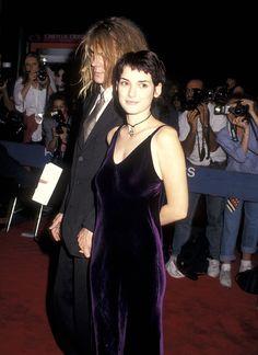 The Slip Dress - Winona Ryder, 1993 Fashion Male, Fashion History, 90s Prom Dresses, Slip Dresses, 1990s Fashion Trends, 1990 Style, Short Grunge Hair, Winona Forever, Bridget Bardot