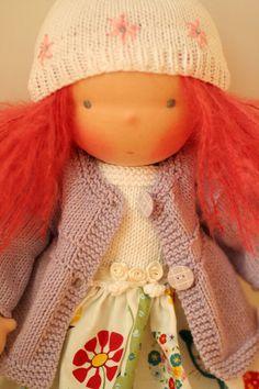 "Organic Waldorf doll 16"" - by Daniela Petrova of Bulgaria. #waldorf doll"