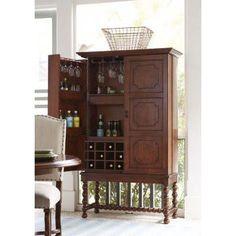 "Paula Deen Furniture 59 ""A Guy Walks Into A Bar"" Cabinet"