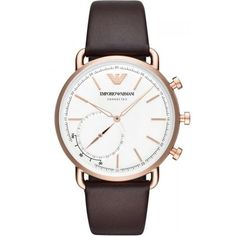 f25f7087d90 Men  s Emporio Armani Connected Watch Aviator ART3029 Hybrid Smartwatch...  for sale online at Crivellishopping.co.uk at the best price. Free Shipping.
