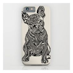 Polynesian Frenchie iPhone 6s Case ($35) ❤ liked on Polyvore featuring accessories, tech accessories and iphone & ipod cases