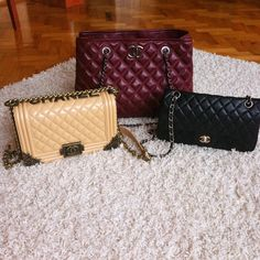 My Chanel bags