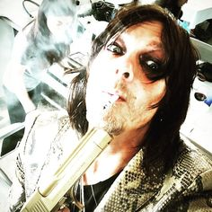 Show tonight. 98 orchard st. Nyc  May 16 2015 | Norman Reedus