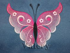 Butterfly 1 | Machine embroidery design