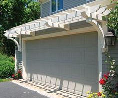 Within the previous ten years that negative view of the garage has actually changed significantly. Climatizing the garage has actually become a lot more than an afterthought. Garage Trellis, Garage Pergola, Outdoor Pergola, Pergola Plans, Diy Pergola, Pergola Kits, Outdoor Decor, Pergola Ideas, Cheap Pergola